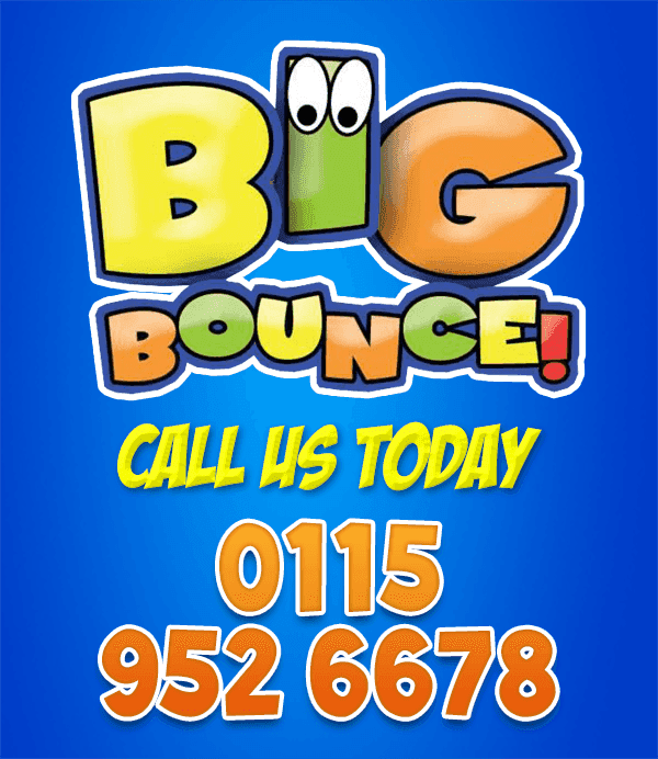 Big Bounce - Bouncy Castle Hire in Nottingham - 0115 952 6678 / 07743 493 439